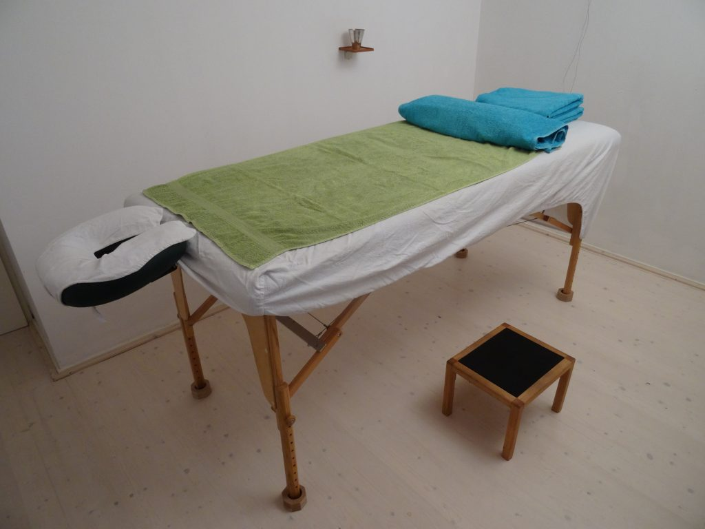 Behandeltafel massage